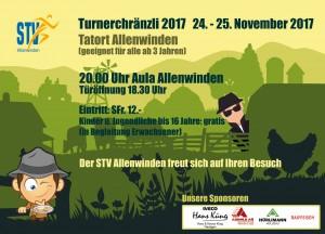 Turnerchränzli 2017 Flyer